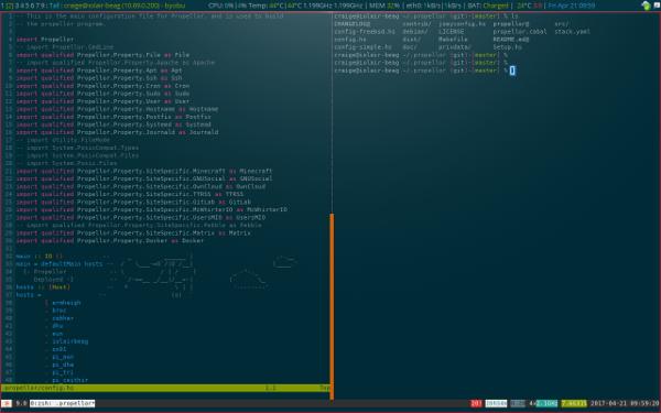 xmobar screenshot