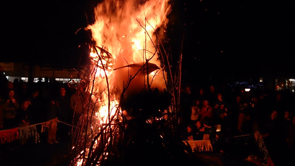 The Cygnet bonfire