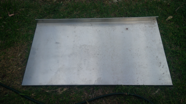 Brand new second hand stainless steel bench top